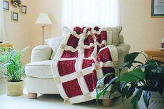 HEARTS pattern for crocheted blanket
