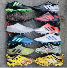 All adidas Glicth Adidas Soccer Boots, Adidas Cleats, Football Shoes, Nike Soccer, Nike Football, Football Cleats, Soccer Shoes, Adidas Men, Football Equipment
