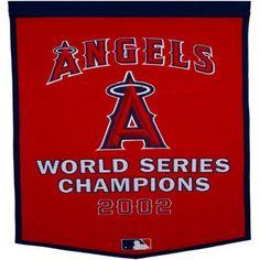 Los Angeles Angels Banner, Multicolor