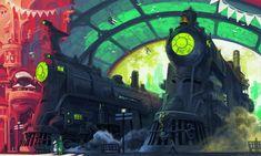 Trainyard by Imson