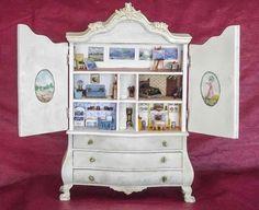 Good Sam Showcase of Miniatures: Jo Meyer: Friday Workshop, Original Paintings, Furniture & Accessories (jt- see miniature art gallery on top floor!)