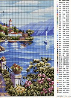 Thrilling Designing Your Own Cross Stitch Embroidery Patterns Ideas. Exhilarating Designing Your Own Cross Stitch Embroidery Patterns Ideas. Cross Stitch Sea, Cross Stitch House, Cross Stitch Flowers, Cross Stitch Kits, Cross Stitch Charts, Cross Stitching, Cross Stitch Embroidery, Embroidery Patterns, Funny Embroidery