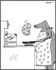 Bildergebnis für the far side cartoons Far Side Cartoons, Far Side Comics, Funny Cartoons, The Far Side Gallery, Gary Larson, Cute Funny Dogs, Cartoon Dog, True Stories, Make Me Smile