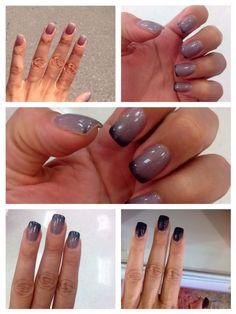 My new mood changing nail polish! So much fun!!