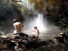 5 Free Natural Hot Pools in Rotorua - NZ Pocket Guide New Zealand Travel Guide Sierra Nevada, Banff National Park, National Parks, Natural Swimming Pools, Natural Pools, Thermal Pool, New Zealand Travel Guide, Camping, Hot Springs