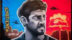Graffiti, Dream City, Mumbai, India, Live, Artist, Movie Posters, Painting, Instagram