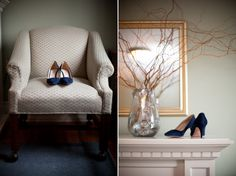 something blue Photo by Boston Avenue Co. Vineyard Church, Old Stone, A Perfect Day, Church Wedding, Sweet Couple, Something Blue, The Twenties, Boston, Accent Chairs