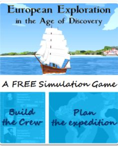 European Exploration Free App - Kids learn history via playing. They also learn budgeting, team building, and vonage planning. -AB