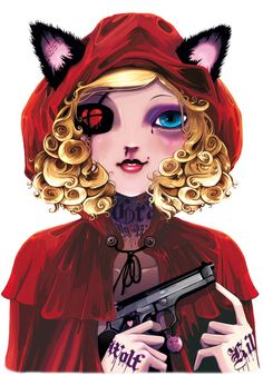Le Petit Chaperon Tout Rouge   Little Red Riding Hood by Ludovic Jacqz