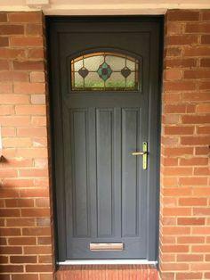 Tudor style composite door from www.xtremedoor.co.uk