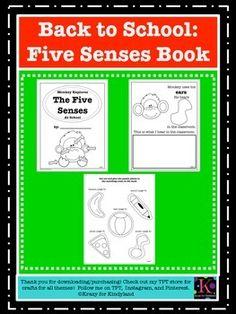 Five-Senses-Book to ma...