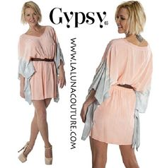 New! Gypsy 05 Pastel belted dress $129!  Our Lightweight Spring dress with a belted waist is the ultimate fun flirty going out dress! Order yours now!  https://www.lalunacouture.com/gypsy-05-pastel-belted-dress.html  #‎gypsy05‬ ‪#‎dress‬ ‪#‎spring‬ ‪#‎boho‬ ‪#‎lookbook‬