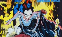 Mystique was probably one of the first lesbians in the Marvel Universe. Although her sexuality in recent years can be described as bi-sexual (and it's even unclear if she is a woman, man, transsexual, or something else entirely), she was originally written to be in a relationship with Destiny, but at the time, Marvel would not allow the writers to be that explicit.