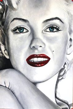 ❤Marilyn Monroe Art ~*❥*~❤ cinziapellin | Artodyssey: Cinzia Pellin