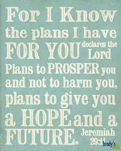 Jeremiah 29:11 Etsy