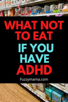 What foods to avoid if you have adhd Adhd Diet, Bowl Of Cereal, Wellness Mama, Adhd Symptoms, Sweet Potato Chips, Get Educated, Bad Food, Unsweetened Almond Milk, Foods To Avoid
