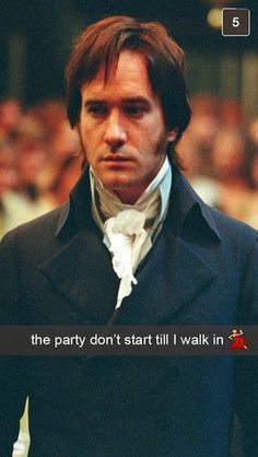 """If The Characters From """"Pride And Prejudice"""" Had Snapchat"""