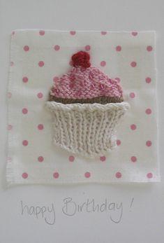 Cupcake card - really cute birthday card idea