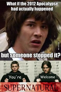 This is how it happened -Supernatural