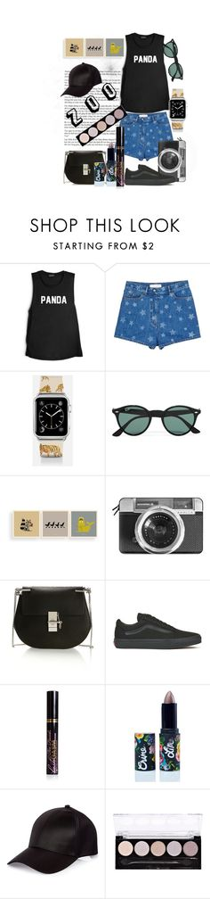 """""""zoo"""" by polyvoregirl-567 ❤ liked on Polyvore featuring Valentino, Casetify, Ray-Ban, Dorothy, Chloé, Vans, Too Faced Cosmetics, Lime Crime, River Island and L.A. Colors"""