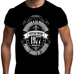 f29f818c1 Camiseta para regalo de 40 cumpleaños para hombre Matured 1977