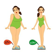 Buy Fat and Slim Woman on Weight Scales by macrovector on GraphicRiver. Fat and slim woman on weights scales, diet and exercises progress isolated vector illustration. Losing Weight Memes, Bodybuilding Humor, Weight Scale, Balance, Smoothie Diet, How To Increase Energy, Weight Loss Transformation, Ways To Lose Weight, Lose Belly Fat