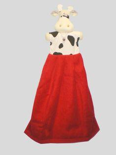 Essuie-mains vache - Large choix d'objets décoratifs