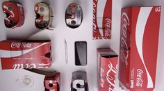 The cardboard around your 12-packs of Coca-Cola drinks can now be converted into a pair of disposable virtual reality goggles.