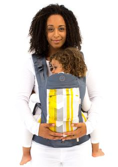 Featuring three carry positions and a 45-pound weight maximum, the Beco Soleil is the perfect carrier for navigating the airport, train station or shopping mall with your little one this holiday season.