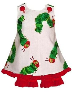 Custom The Hungry Caterpillar Dress or Outfit by ChildrensCottage, $51.00