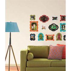 Jonathan Adler for WallPops. Enamel Frames. #walldecals  #wallart  #peelandstick  #WallPops  #wallstickers  #decor  #DIY  #decorating