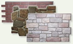 how to paint cinder block wall to look like stone