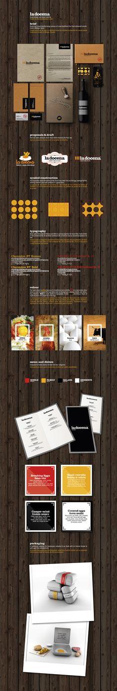 La Docena | Julito Ruiz. Now I want some eggs #identity #packaging #branding PD