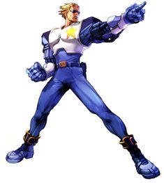 Captain Commando from Namco × Capcom