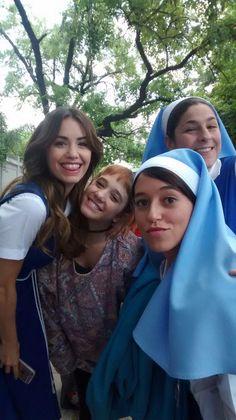 Detras de camara: Lali, Angela, Leticia y Vane
