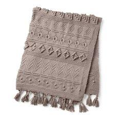 Bernat Sampler Knit Blanket