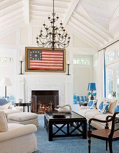 Floor Plan, ignore the Americana decor.
