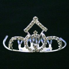 Bridal Princess Wedding Crystal Rhinestone Mini Tiara Comb >>> You can get additional details at the image link.