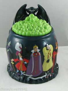 Villians Cookie Jar by Walt Disney Parks & Resorts
