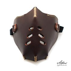 Design leather mask our interest. Can use in their daily lives or while on your motorcycle. Designed for riding your motorcycle or that the best protection is required. • Leather Motorcycle Biker Face Mask • Spandex straps to adjust to your face comfortably fit fine. • Can be worn over the face. • One size fits most • stylish and practical • Suitable for motorcycles • Perfect Face Shield • See a very good vintage. • a gift for someone special • The perfect gift for any biker. Descripti..