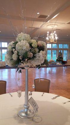 Winter elevated wedding