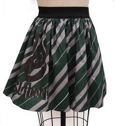 Slytherin Inspired Full Skirt. $54.99, via Etsy.