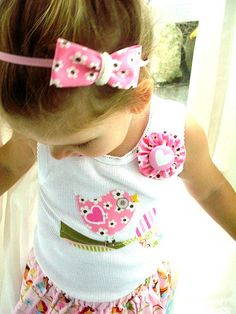 Items similar to Baby Tank Singlet Li'l Birdie on a Branch on Etsy Baby Bloomers, Little Miss, Baby Sewing, Kids Christmas, Baby Bodysuit, Boy Or Girl, Trending Outfits, My Style, Diy Baby