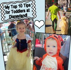 Top 10 Tips for Visiting Disneyland with Toddlers