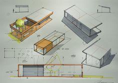 pavilion for PMU on Behance