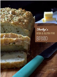 Grain Free Bread  1½ cups almond meal  ¾ cups arrowroot flour  ¼ cup hemp seeds + 1 tbsp (or 1 tbsp pumpkin ground seeds also works well)  ½ tsp sea salt  ½ tsp baking soda  2 tsp fennel seeds  ½ cup parmesan or pecorino cheese  5 (free-range or organic) eggs  1½ tsp apple cider vinegar  cook 35min at 325F