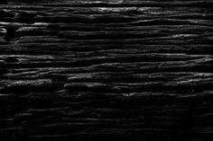 black wood texture close up