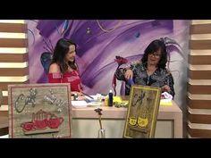 Relógio Margarida e Kit para cozinha por Cleo Squarizi - 03/11/2017 - Mulher.com - P1/2 - YouTube