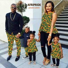 African Print MSA Signature African couple clothes dress for women with kids skirt traditional family bazin riche clothes print cotton wax summer plus size African Fashion Designers, African Dresses For Women, African Print Fashion, Africa Fashion, African Attire, African Wear, African Fashion Dresses, African Women, African Prints