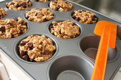 Chocolate Chip Muffins: Raw, Vegan & Delicious. ~ Hannah Martin